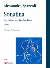 Spazzoli, Alessandro : Sonatina for Guitar and Double Bass (2018)