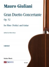 Giuliani, Mauro : Gran Duetto Concertante Op. 52 for Flute (Violin) and Guitar