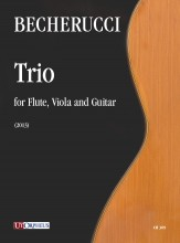 Becherucci, Eugenio : Trio for Flute, Viola and Guitar (2013)