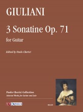 Giuliani, Mauro : 3 Sonatine Op. 71 for Guitar
