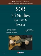 Sor, Fernando : 24 Studies Opp. 6 and 29 for Guitar