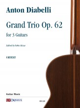 Diabelli, Anton : Grand Trio Op. 62 for 3 Guitars