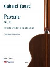 Fauré, Gabriel : Pavane Op. 50 for Flute (Violin), Viola and Guitar