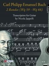 Bach, Carl Philipp Emanuel : 2 Rondos (Wq 59 - Wq 66) for Guitar