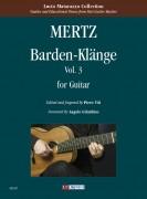 Mertz, Johann Kaspar : Barden-Klänge for Guitar - Vol. 3