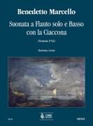 Marcello, Benedetto : Suonata a Flauto solo e Basso con la Ciaccona