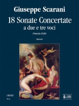 Scarani, Giuseppe : 18 Sonate Concertate a due e tre voci (Venezia 1630) [Score]