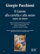 Pacchioni, Giorgio : Il Canone alla cartella e alla mente on a Tenor