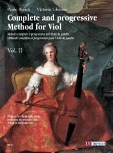 Biordi, Paolo - Ghielmi, Vittorio : Complete and progressive Method for Viol - Vol. 2
