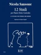 Sansone, Nicola : 12 Studies for Treble Recorder