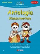 Tessier, Adriana : Antologia Rinascimentale (Livello 3). Raccolta di musiche del sec. XVI per liuto, vihuela e chitarra rinascimentale con cenni su contesti e prassi esecutive