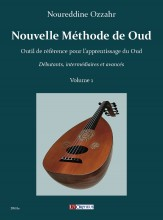 Ozzahr, Noureddine : Nouvelle Méthode de Oud - Vol. 1
