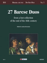 Masters from Bari : 27 Duos from a 16th century collection