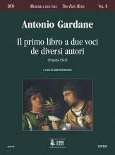 Gardane, Antonio : Il Primo Libro a due voci de diversi autori (Venezia 1543)