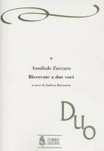 Zuccaro, Annibale : Ricercate a due voci (Venezia 1606)