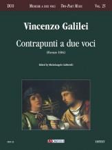 Galilei, Vincenzo : Contrapunti a due voci (Firenze 1584)