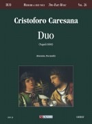 Caresana, Cristoforo : Duo (Napoli 1681)