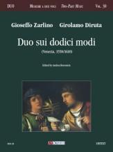 Zarlino, Gioseffo - Diruta, Girolamo : Duo sui dodici modi (Venezia 1558/1610)