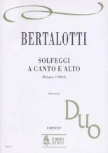 Bertalotti, Angelo : Solfeggi a Canto e Alto (Bologna 1744/64)