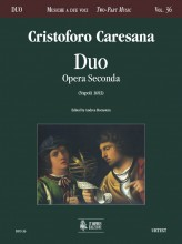 Caresana, Cristoforo : Duo. Opera Seconda (Napoli 1693)
