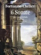 Chelleri, Fortunato : 6 Sonatas (London, early 18th century) for Harpsichord