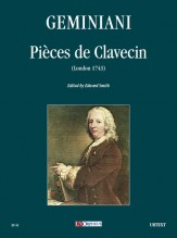 Geminiani, Francesco : Pièces de Clavecin (London 1743)