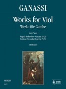 Ganassi, Silvestro : Works for Viol (Venezia 1542/43)