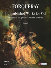 Forqueray, Antoine : 4 Unpublished Works for Viol