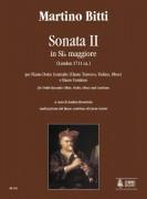 Bitti, Martino : Sonata II in B flat Major (London c.1711) for Treble Recorder (Flute, Violin, Oboe) and Continuo
