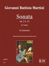 Martini, Giovanni Battista : Sonata Op. 2 No. 12 in F Major for Keyboard
