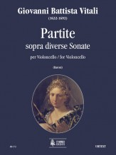 Vitali, Giovanni Battista : Partite sopra diverse Sonate for Violoncello