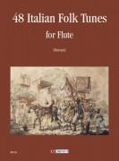 48 Italian Folk Tunes for Flute