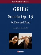 Grieg, Edvard : Sonata Op. 13 for Flute and Piano