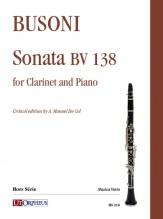 Busoni, Ferruccio : Sonata BV 138 for Clarinet and Piano