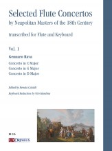 Selected Flute Concertos by Neapolitan Masters of the 18th Century transcribed for Flute and Keyboard - Vol. 1