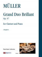Müller, Iwan : Grand Duo Brillant Op. 97 for Clarinet and Piano
