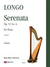 Longo, Alessandro : Serenata Op. 51 No. 6 for Harp