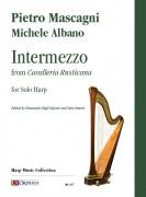 Mascagni, Pietro - Albano, Michele : Intermezzo from 'Cavalleria Rusticana' for Solo Harp