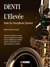 Denti, Carlo : L'Elevée. Suite for Saxophone Quartet