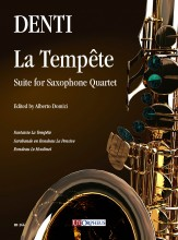 Denti, Carlo : La Tempête. Suite for Saxophone Quartet