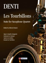 Denti, Carlo : Les Tourbillons. Suite for Saxophone Quartet