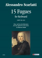 Scarlatti, Alessandro : 15 Fugues (ASOT 102-116) for Keyboard