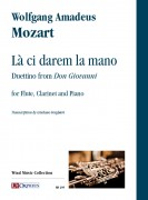 "Mozart, Wolfgang Amadeus : Là ci darem la mano. Duettino from ""Don Giovanni"" for Flute, Clarinet and Piano"