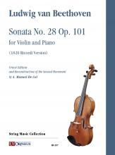 Beethoven, Ludwig van : Sonata No. 28 Op. 101 for Violin and Piano