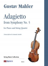 Mahler, Gustav : Adagietto from Symphony No. 5 for Piano and String Quartet