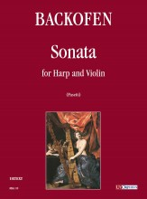 Backofen, Heinrich : Sonata for Harp and Violin