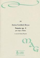 Heyse, Anton Gottlieb : Sonata Op. 4 for Harp and Flute