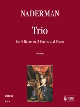 Naderman, François-Joseph : Trio for 3 Harps or 2 Harps and Piano