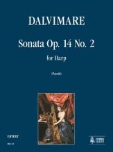 Dalvimare, Martin-Pierre : Sonata Op. 14 No. 2 for Harp