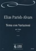 Parish Alvars, Elias : Theme and Variations for Harp